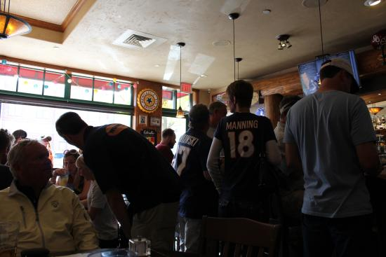 Woody's Bar and Grill : Fans Cheering on their Team