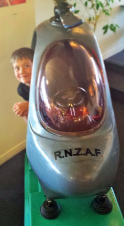 Waiouru, New Zealand: Heli-toy