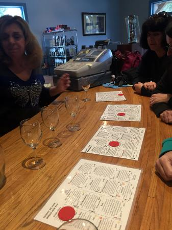 Jamesport, นิวยอร์ก: Wine tasting