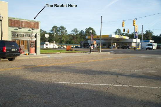 Elba, AL: Across the main highway from the Inland station.