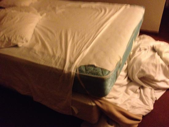 Rohnert Park, Καλιφόρνια: Sheet didn't fit mattress