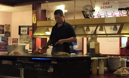 Beijing House: The Mongolian BBQ Buffet was clearly the most popular item on the menu.