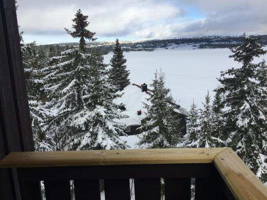 Rustad Hotell & Fjellstue: View from our room