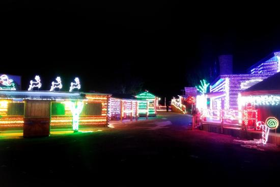 Christmas Lights - Picture of Glenwood Caverns Adventure Park ...