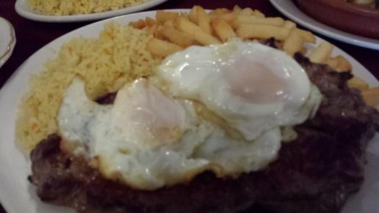Farmingville, NY: Portuguese Style Beef and Eggs