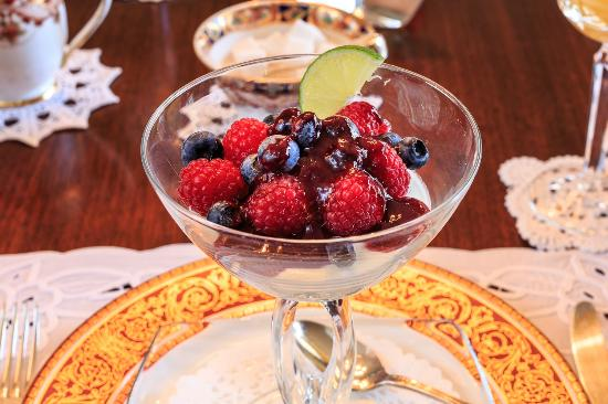 Shangarry Bed and Breakfast: Fruit Cup