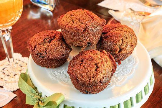 Shangarry Bed and Breakfast: Breakfast Muffins