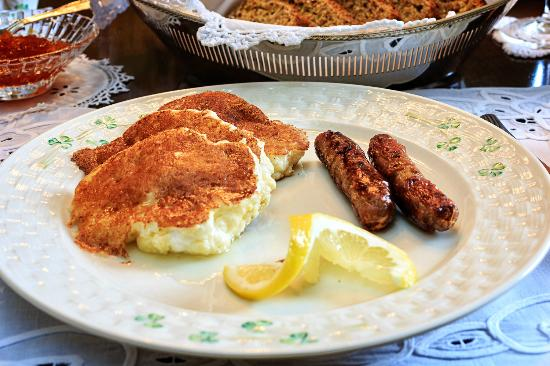 Shangarry Bed and Breakfast: Lemon Pancake Breakfast