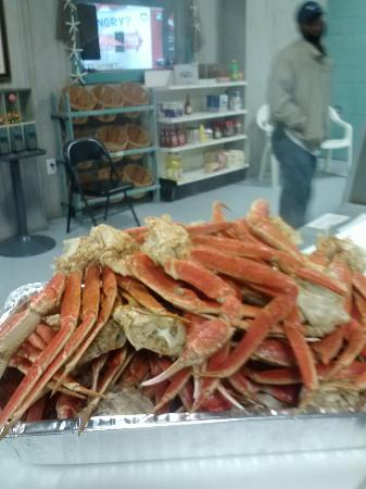 ‪‪Waynesboro‬, جورجيا: Really big crablegs‬