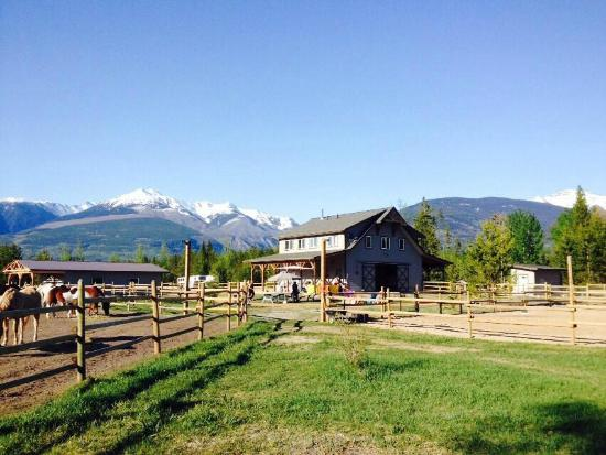 Valemount, Canada: the ranch