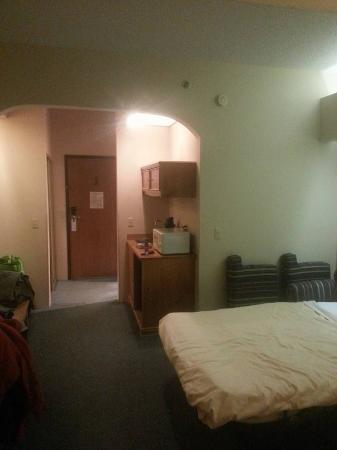 University Suites Hotel: main part of room