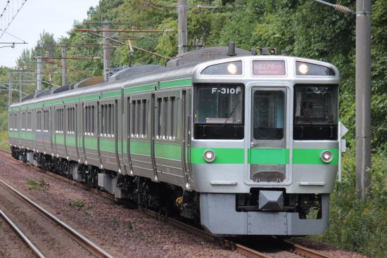 Hokkaido, Japón: 快速エアポート以外に普通列車にも使われる721系