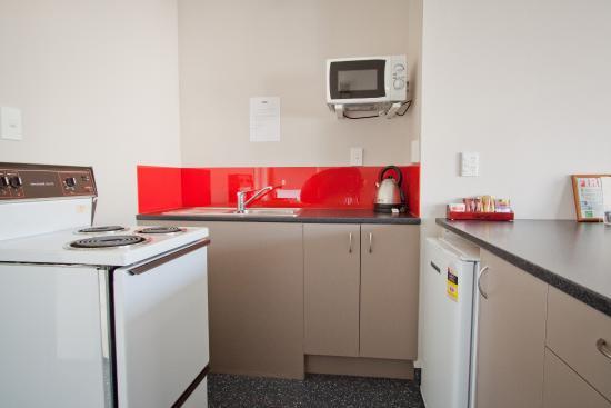 Feilding, Nueva Zelanda: Family Unit Kitchen