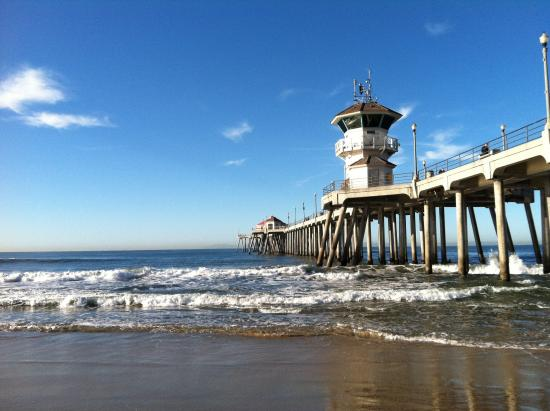 Like a maximum security guard tower picture of for Huntington beach pier fishing