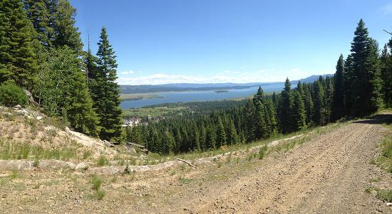Tamarack, ID: View of Lake Cascade