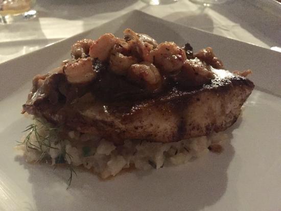Restaurant Iris: risotta