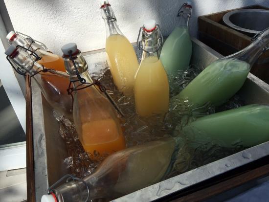Putahracsa Hua Hin: Breakfast fresh juices
