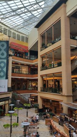 View of Middle Atrium at Pacific Place Mall