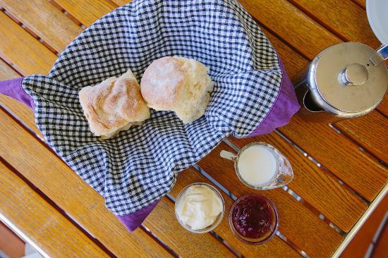 Laidley, Australia: Delicous scones