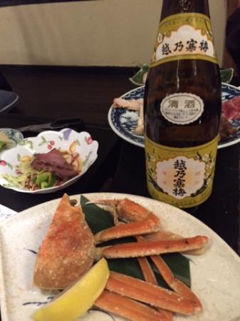 Sanyo Hotel: 通常の夕食
