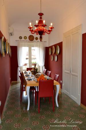 Abatellis Luxury: Sala colazone