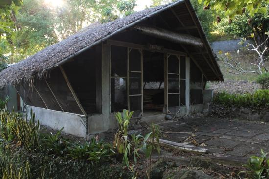 The Tamarind Tree Resort: one of the nipa houses, now a storage