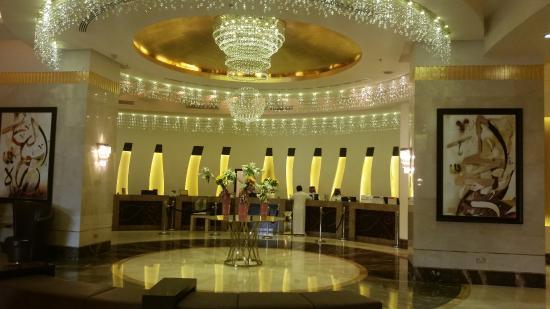 Hilton Makkah: Reception Area