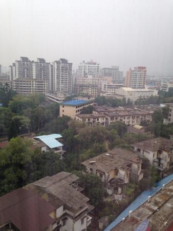 Pearl Hotel Starlake: Views of the city from 10th floor of twin room