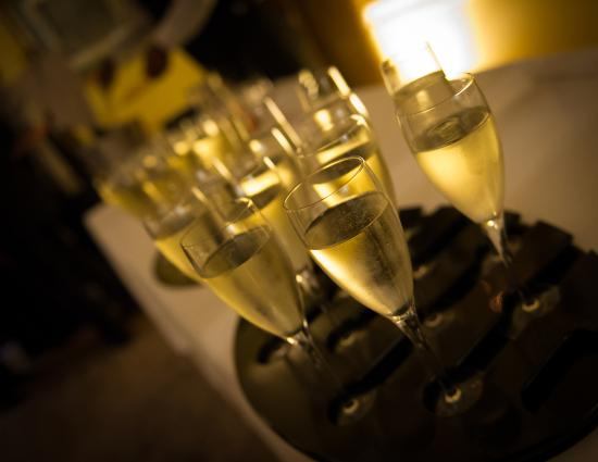 Stoke Park Country Club, Spa and Hotel: Champagne Reception