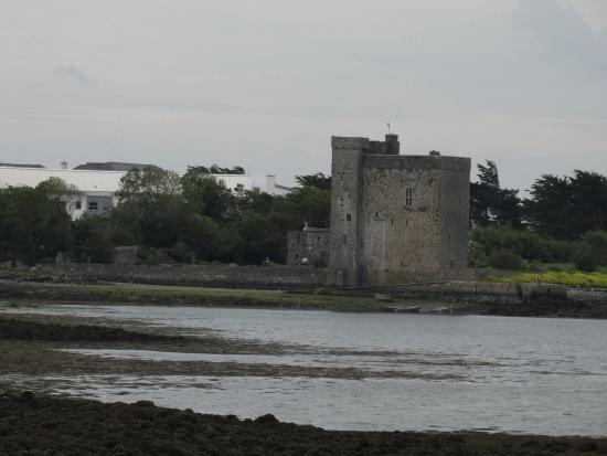Oranmore Castle as seen from the Castle View B+B