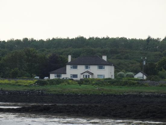 Castle View B+B as viewed from Oranmore Castle