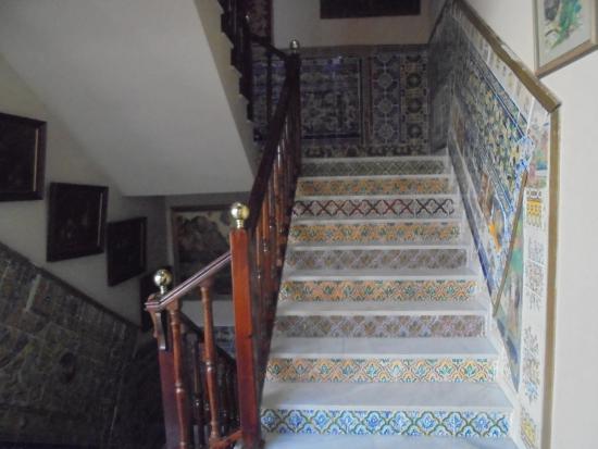 Hotel Convento La Gloria: Scale