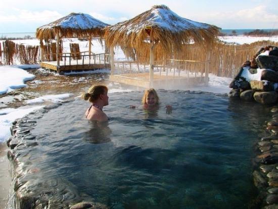 Karakol, Δημοκρατία της Κιργιζίας: Горнолыжный тур «Восточная зима»  купание в горячих источниках