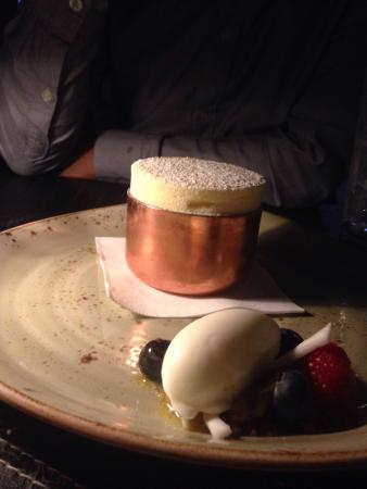 O Bar and Dining: O Bar dining ,fine food and desserts are credit to Michael Moore,chefs and lovely staff always