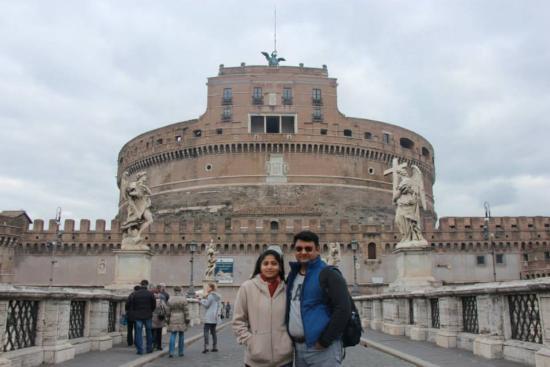 Hotel Cicerone: Castel St Angelo
