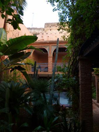 Riad Meknes: Jardins