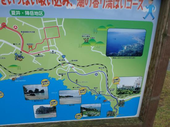 Boruberia Daguri: ウォーキングマップ