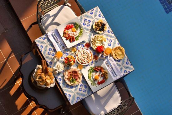 Delicious Tuskish breakfast - Picture of Alp Pasa Hotel, Antalya ...