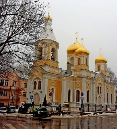 ‪Church of St. Moscow Prelates‬