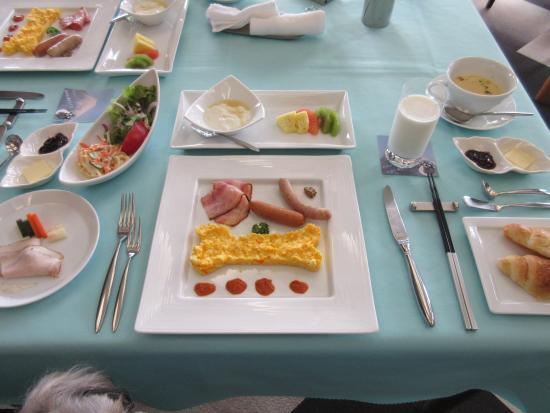 Aikento Tanoshimu Designers Hotel Dear Dog Izu Nagaoka : ある日の朝食