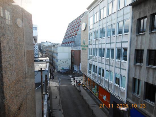 Hotel Glockengasse : vista dalla stanza al 3° piano