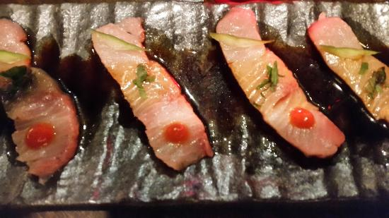 Hamachi tiradito picture of zengo new york city for Amaze asian fusion cuisine 3rd avenue new york ny