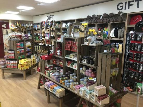 Llanedi, UK: Gifts Section