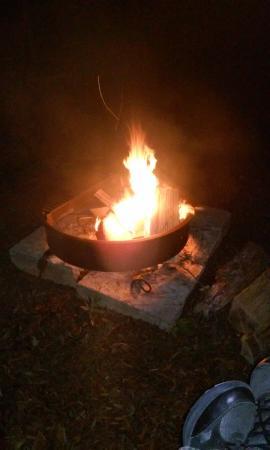 Doyline, LA: campfire