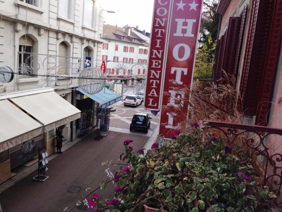 Hotel Continental: вид из отеля