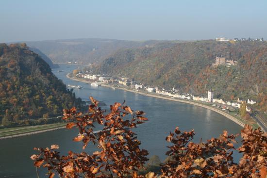 Hesse, Almanya: Рейн с самого верха