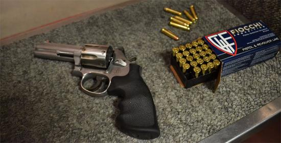 The revolver, some different ammo to try