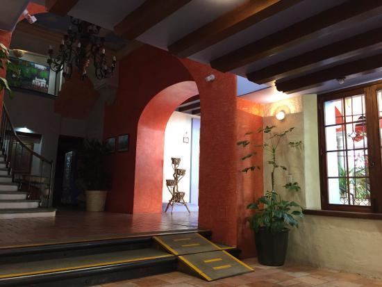 Hotel Trebol: Area de recepcion