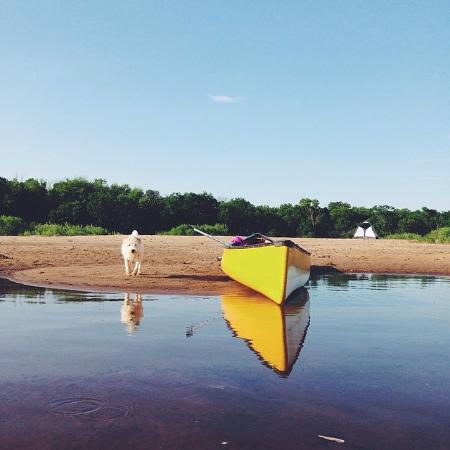 Boscobel, WI: Canoeing the Wisconsin River with Wisconsin River Outfitters.