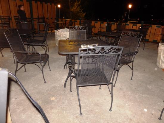 Stumble Inn: outdoor deck